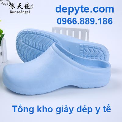 Dép y khoa có thoáng khí dành cho bác sĩ, y tá- Giày dép y tế bệnh viện, phòng khám chất lượng cao- Dép đi trong nhà chống trơn trượt- Giày dép sức khỏe ngành y