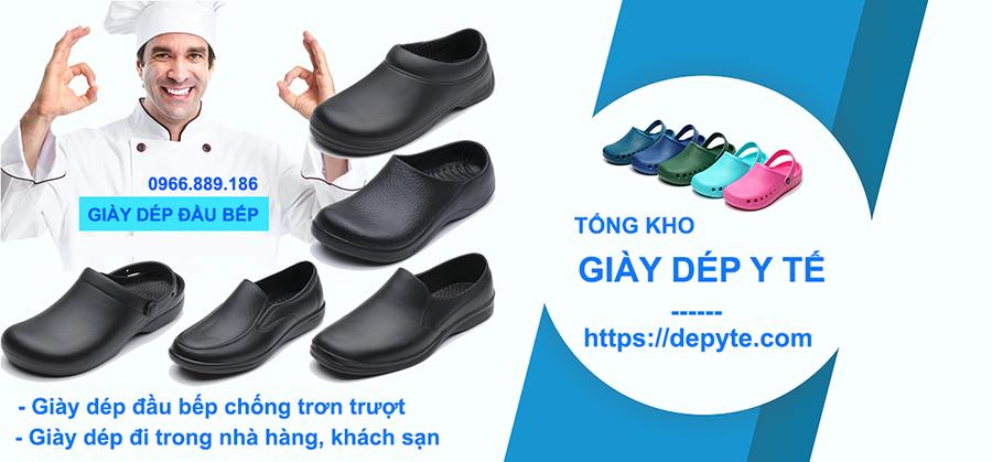 Giày đầu bếp chống trơn trượt, Giày dép chuyên dụng đi trong nhà bếp, nhà hàng, khách sạn
