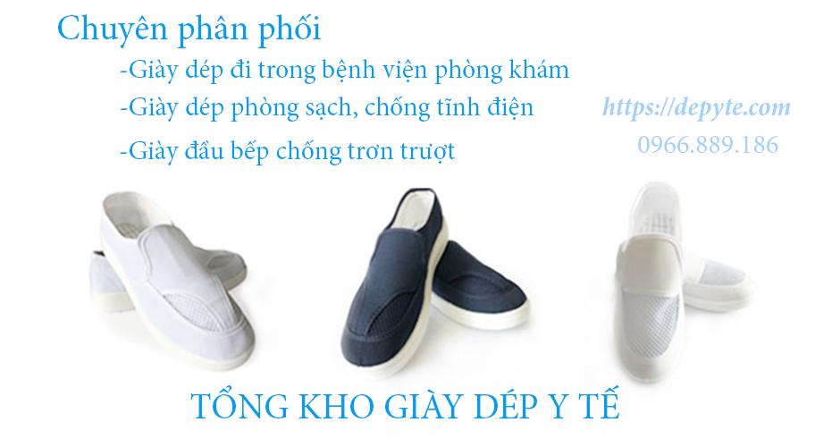 Tiêu chuẩn của một đôi giày chống tĩnh điện, giày phòng sạch