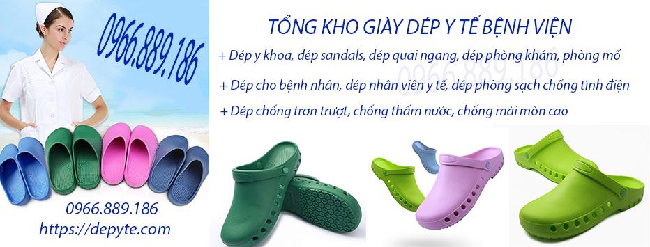 Dép y tế quai ngang, dép sandals chuyên dụng trong ngành y với nhiều ưu điểm vượt trội  mang đến sự hài lòng lớn cho mọi người