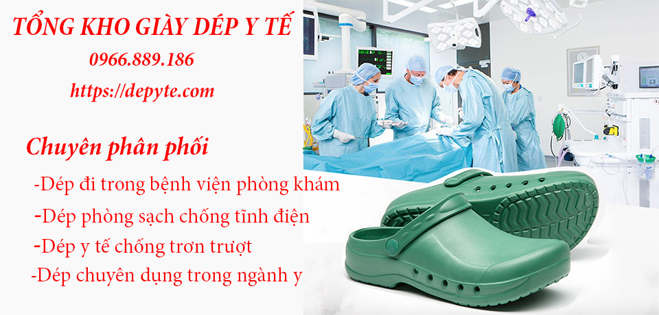 Tầm quan trọng của giày dép y tế bệnh viện, phòng khám, Dép đi trong phòng mổ