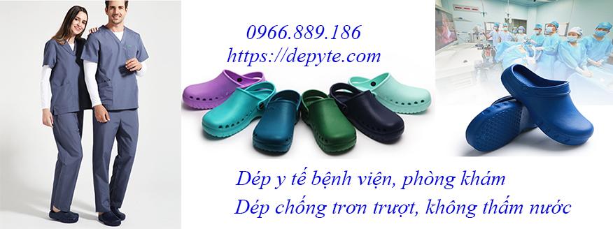 Dép y tế, dép sandals chuyên dụng trong bệnh viện, phòng khám không thấm nước, không mùi, thoáng khí