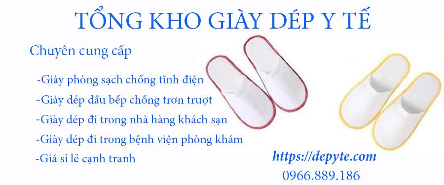 Giày dép dùng một lần bảo vệ an toàn cho đôi chân đi trong resort, khách sạn