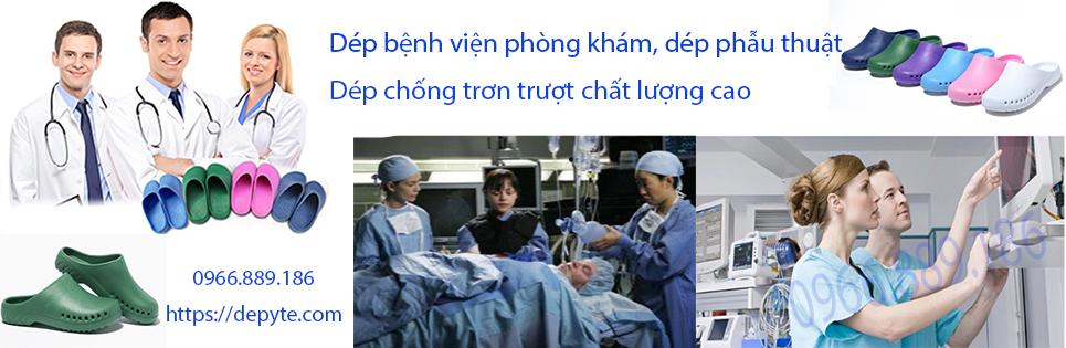 Dép phòng mổ, phòng phẫu thuật, dép sục y tế không quai chuyên dụng trong ngành y, thoáng khí, khử khuẩn, chống trượt tối ưu