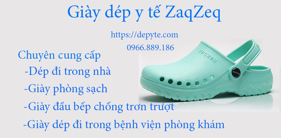 Giày dép y tế thương hiệu ZaqZeq chính hãng chuyên dụng trong ngành y