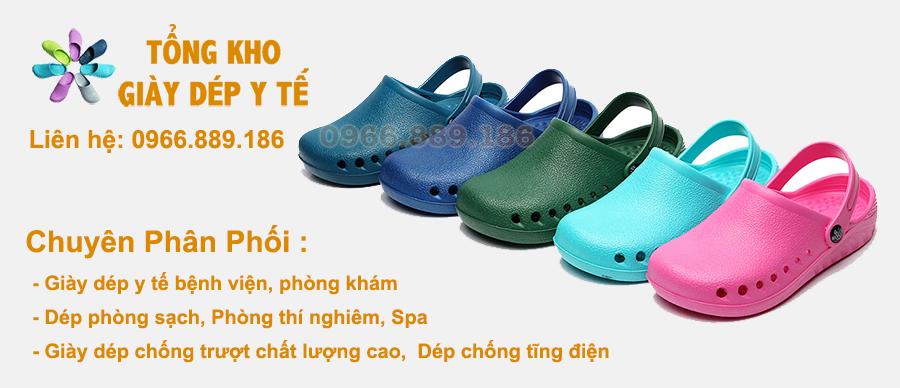 Giày dép y tế bệnh viện phòng khám, Dép phòng sạch, Dép chống tĩnh điện, Giày dép đầu bếp, Dép chống trượt chất lượng cao